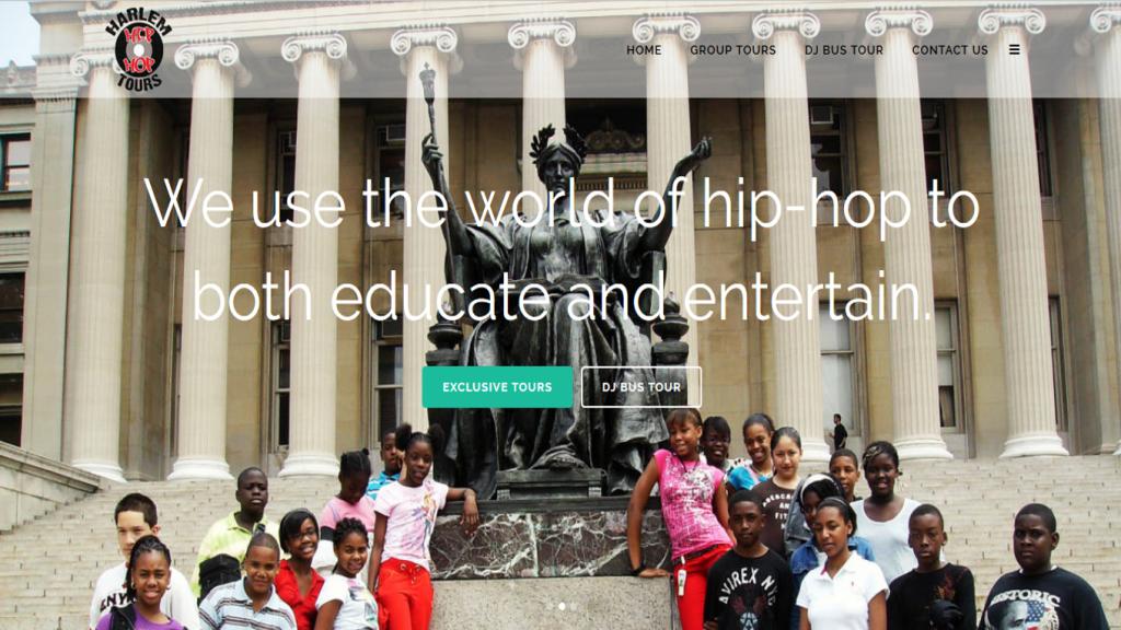 H3 Tours website screenshot